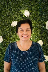 Cô Đặng Thị Sâm (15/4/1949). Cô là cán bộ giảng dạy từ năm 1973 đến 2004