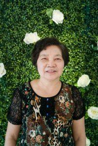 Cô Tô Thị Nhài (4/4/1948). Cô là giảng viên chính công tác tại khoa từ năm 1971 đến năm 2003.