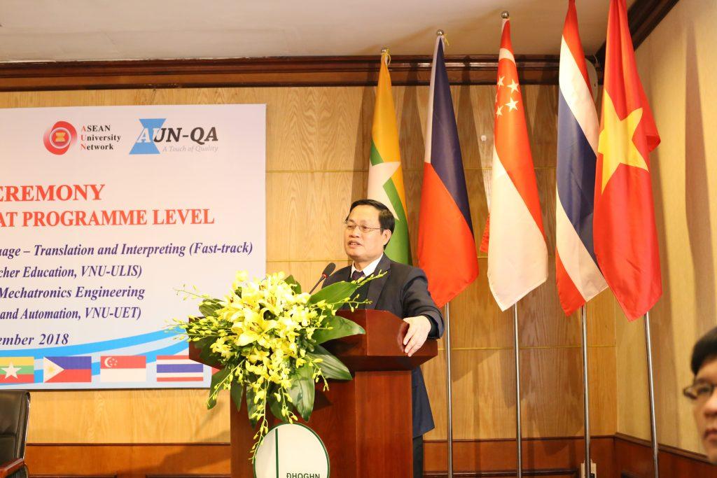 PGĐ Nguyễn Hữu Đức phát biểu tại lễ khai mạc